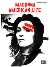 Madonna American Life Piano Guitar Music Song Book NEW