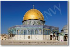 The Dome of the Rock - NEW World Travel Poster