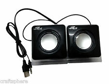 Terabyte USB Powered Mini Portable Multimedia Speakers for Laptop,Desktop,Mobile