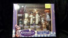 Disney Pixar Ratatouille Character Cast Gift Pack  Toy 7 Figures Remy Emile ++