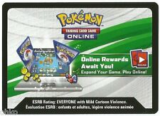 POKEMON - GENESECT ONLINE CODE CARD FROM MYTHICAL COLLECTION BOX SET -20TH ANNIV