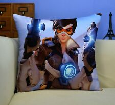 Game Overwatch Tracer Home Decor Hold Double Side Pillow  45*45 cm