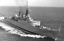ROYAL NAVY U CLASS DESTROYER HMS UNDAUNTED IN 1967