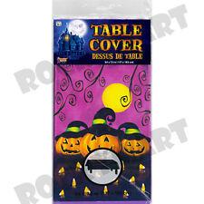 """Plastic Cover PUMPKINS Table Cloth 54 x 72"""""""
