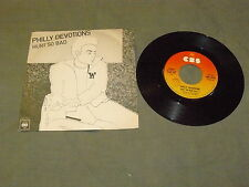 "PHILLY DEVOTIONS ""HURT SO BAD"" 7"" CBS Ita 1976 SOUL DISCO"
