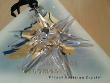 Swarovski 1993 Christmas/X-mas Ornament/Snowflake, Perfect !!!