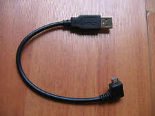 short Usb A 2.0 male A/M to left angle 90 degree micro microusb cable