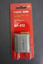 Canon BP-412 Lithium Ion Battery Pack 1180 mAh