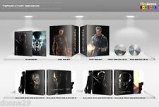 Terminator Genisys 3D+2D Blu-ray Filmarena Numbered Steelbook Boxset New &Sealed
