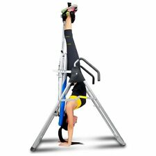 Inversion Therapy Table Back Support Stretch Fitness Workout Trainer Machine New