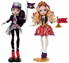 Ever After High Toy - School Spirit Apple White and Raven Queen Deluxe Fashion
