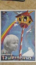 (D79) DDR-Plakat ICH SUCHE EIN TAUBENHAUS - CSSR 1986