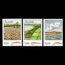 Aland 1994 - Rock Formations Nature - Sc 34,38,51 MNH