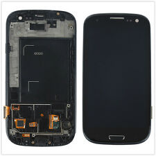A+ Display Lcd Touch Screen Frame For Samsung Galaxy s3 Neo I9301 i9300i Nero