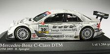 MINICHAMPS - Mercedes-Benz C-Class - DTM 2005 - B. Spengler - NEU in OVP - 1:43