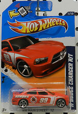 2011 11 DODGE BOYS CHARGER R/T AURORA RACE FIRE RED CAR MOPAR HW HOT WHEELS
