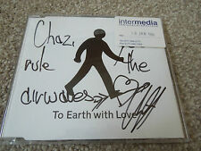 Rare Signed Promo Gay Dad - CD Album To Earth With Love - Signede by Cliff Jones