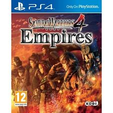 Samurai Warriors 4 Empires PS4 Game Brand New
