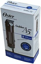 Oster GOLDEN A5 Professional 220v Clipper 1133963 Two Speed Cryogen-X 78005-140