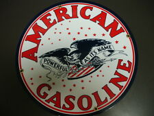 AMERICAN Gas Oil advertising Porcelain Metal sign