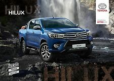 2017 MY Toyota Hilux  08 / 2016 catalogue brochure