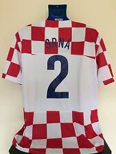 Croatia SRNA 08/10 Home Football Shirt (XL) Soccer Jersey
