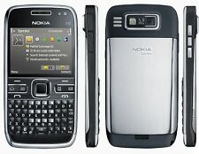Nokia E72 (Unlocked) Cellular Phone - WIFI 5MP Camera - Black/White