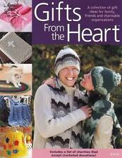 Annie's Attic Gifts From The Heart BOOK Crochet Patterns Kitty Puppy Afghan Baby