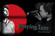 PEEPING TOM LARGE LTD SCREEN PRINT POLISH FILM POSTER BY SWAVA HARASYMOWICZ