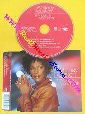 CD singolo Whitney Houston My Love Is Your Love EUROPE 99 no lp mc vhs dvd(S20)