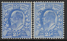 SG 230-1  2 1/2d   Ultramarine/Pale Ultramarine M16(2/3)  Post Office fresh U.M.