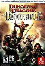 Dungeons & Dragons: Daggerdale (PC, 2011) factory sealed new world of warcraft
