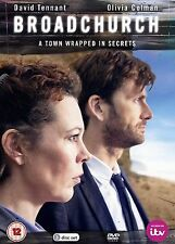 Broadchurch Complete Series 1 DVD ITV Brand New UK Release R2 David Tennant