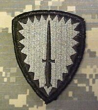 US Army Special Forces Operations Command Europe ACU Uniform UCP Klett patch