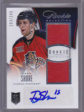 2013-14 Panini Rookie Anthology #145 Drew Shore Jersey Auto RC 194/249
