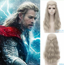 Marvel's The Avengers Thor Odinson Long Linen Blonde Cosplay Wig Hair