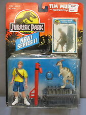 """Jurassic Park """"TIM MURPHY"""" w/ Retracting Snare  NEW SEALED 1993 MOC Series 2"""
