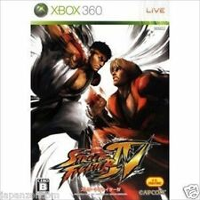 Used Xbox  360  Street Fighter IV MICROSOFT JAPAN JP JAPANESE JAPONAIS IMPORT