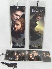 Twilight ORIGINAL SET OF 3 BOOKMARKS Borders NEW!