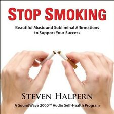 Stop Smoking - Steven Halpern (2013, CD NEUF) Remastered