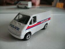 Corgi Ford Transit Police in White