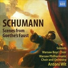 Schumann: Scenes from Goethe's Faust, New Music
