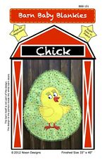 Barn Baby Blankies Chick Animal Shaped Quilt Pattern *REDUCED*