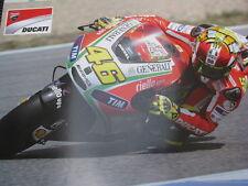 Poster Ducati Desmosedici GP12 2012 #46 Valentino Rossi (ITA)