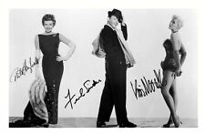 RITA HAYWORTH & FRANK SINATRA & KIM NOVAK SIGNED A4 PP POSTER PHOTO