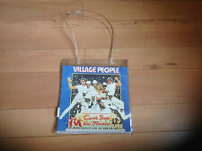 VILLAGE PEOPLE STRONG PLASTIC BAG VINTAGE LP COVERS IN SIDES OF BAG RETRO NEW B7