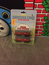 Thomas Train Ertl die cast Shining Time Station Sodor Mail Coaches New In Box