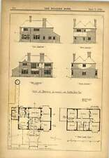 1900 House At Berkswell Near Coventry For Alfred Dale Design Plans