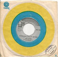 "45 TOURS / 7"" SINGLE--GARY GLITTER--IF WOULD IF I COULD BUT I CAN'T"