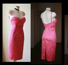Sexy  ** Origina Gianni Versace Kleid Sommerkleid mit Seide d.G. S LUxus  PINK